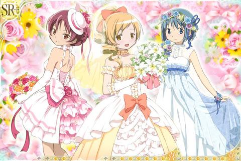 【マギレコ】杏子の花嫁バージョン実装して欲しい...『画像付き』